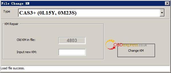 La façon d'utiliser Xhorse VVDI BMW pour corriger l'odomètre 3