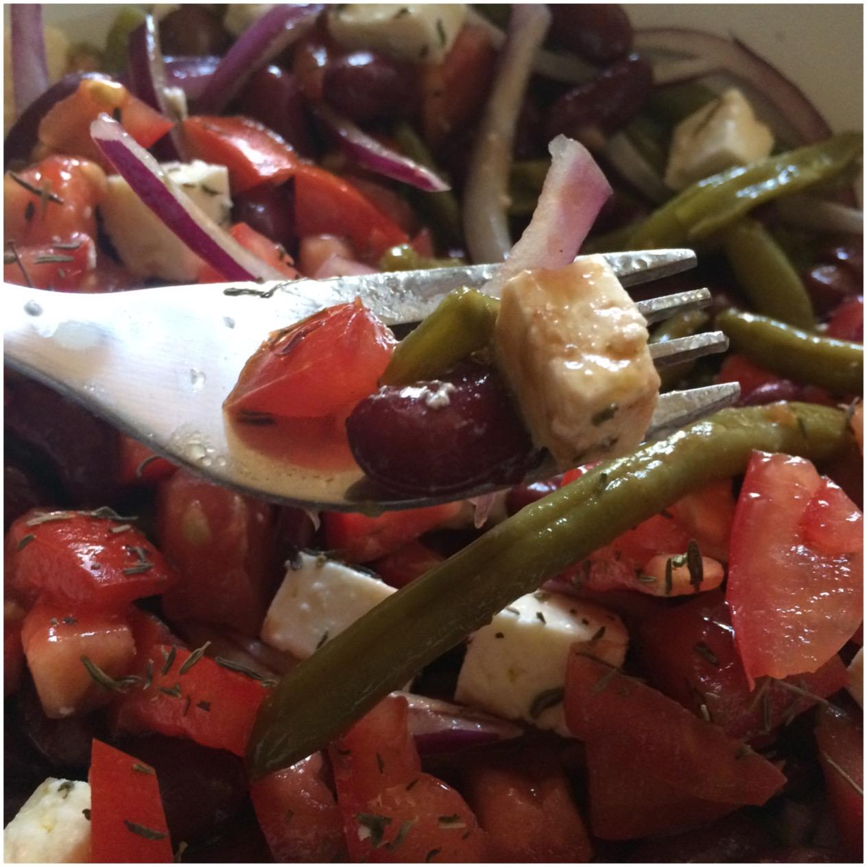 Apfelstrudel kuchen ensalada de jud as verdes tomate y - Ensalada de judias pintas ...