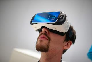 ilustrasi perangkat virtual reality