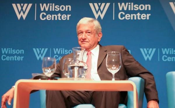 """""""Acabaremos con la corrupción en México"""": AMLO en Washington"""
