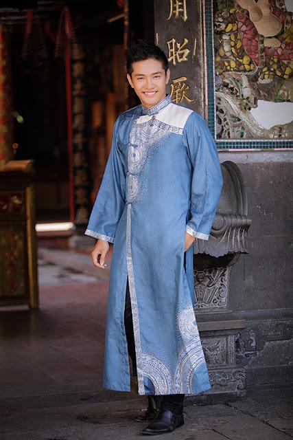 cho thuê áo dài nam