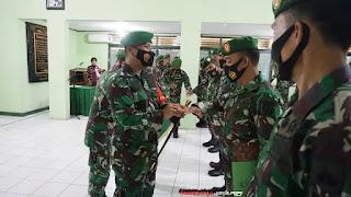 Komandan Kodim 0719 Pimpin Crop Raport Perwira Dan Wisuda Purna Tugas