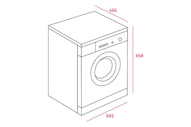 Máy giặt Teka TK4-1270