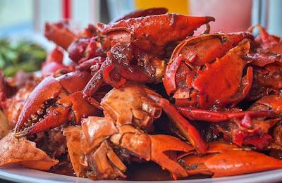 Kepiting enak menu buka puasa