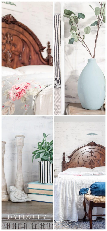 Spring bedroom details