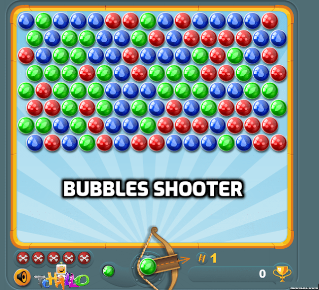 لعبة : ball-games-Bubbles Shooter