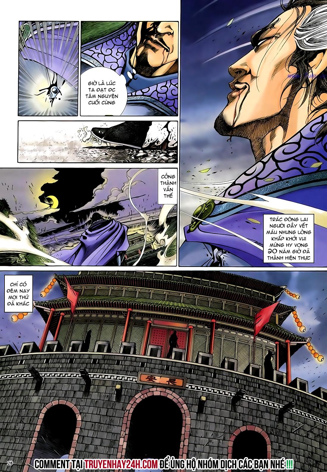 Anh hùng vô lệ Chap 29 trang 29
