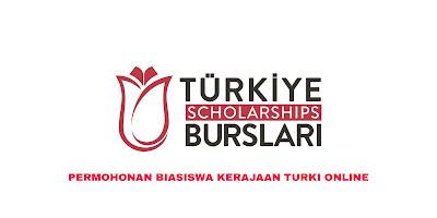 Permohonan Biasiswa Turki 2020 Online