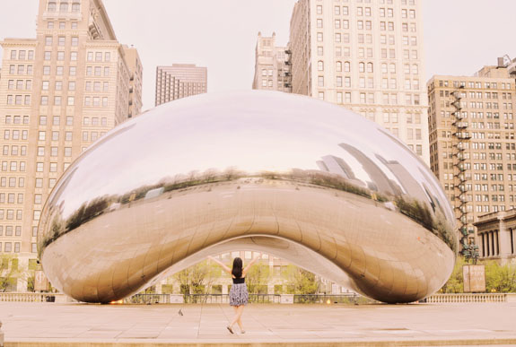 2 days in Chicago itinerary: Cloud Gate aka the Bean
