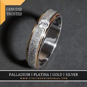 cincin kawin palladium single 524pd