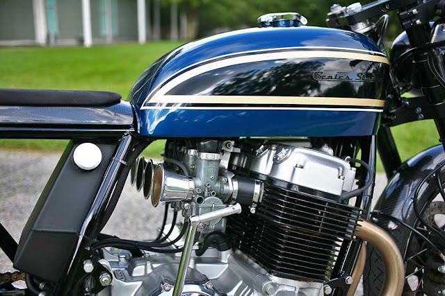 Honda CB750 By Scales Studio Hell Kustom