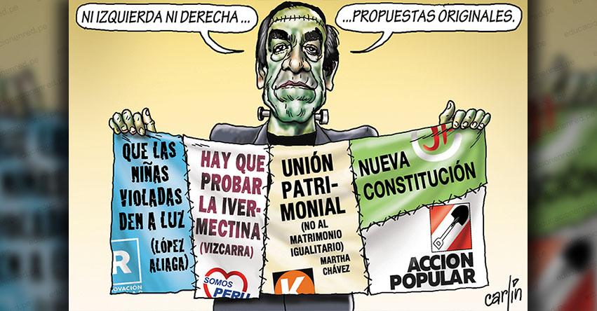 Carlincaturas Viernes 5 Febrero 2021 - La República