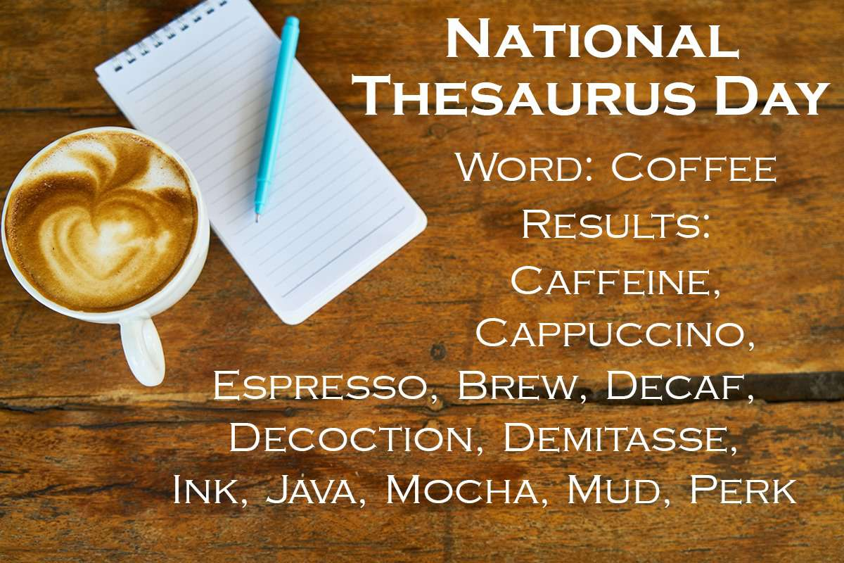 National Thesaurus Day Wishes Photos