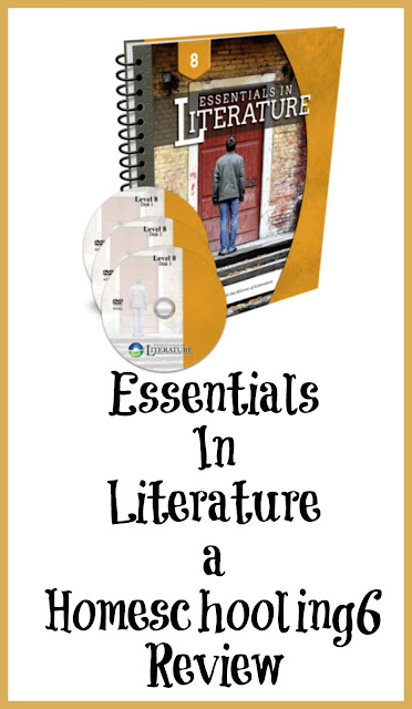 Essentials in Literature a Homeschooling6 Review