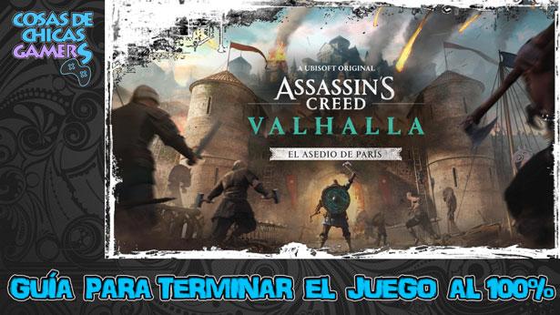 Guía Assassins Creed Valhalla - El asedio de París
