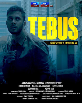 Tebus, Telefilem, Telemovie, Telefilem Tebus, Telemovie Tebus, Sinopsis Telefilem Tebus, Slot Citra Exclusive, Astro Citra, Senarai Pelakon Telefilem Tebus, Fikry Ibrahim, Marsha Milan, Kodi Rasheed, Duera Mitilda, Azhan Rani, Sobri Anuar,