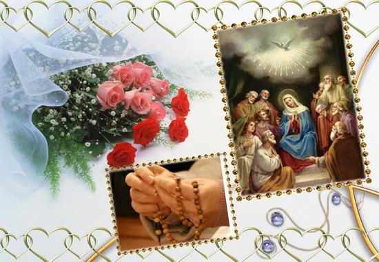 Santo Rosario continuo, di 24 ore, 20 Maggio, Solennità di Pentecoste