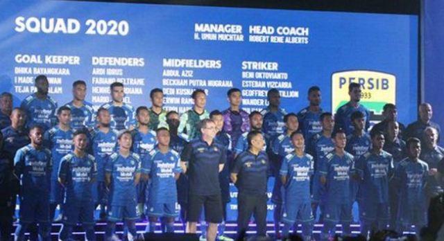 Daftar Pemain Persib Bandung untuk Liga 1 2020 dan Nomor Jersey