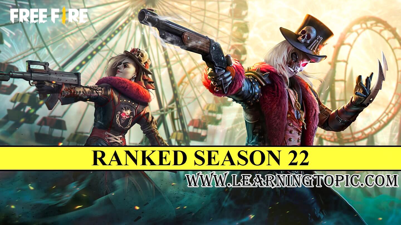 Free Fire Rank Season 22 Rewards, Elite pass, Start date and Time