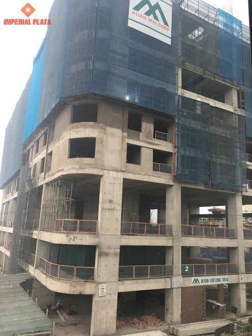 Cập nhật tiến độ chung cư Imperial Plaza