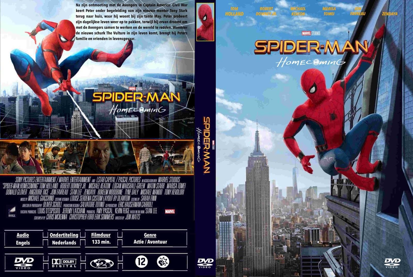 Tudo Capas 04: Spider-man Homecoming (2017) DUTCH R2 ...