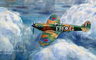 Ultimo avion spitfire de la batalla de inglaterra
