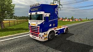 V8 Royal skin for Scania RJL [LazyMods]