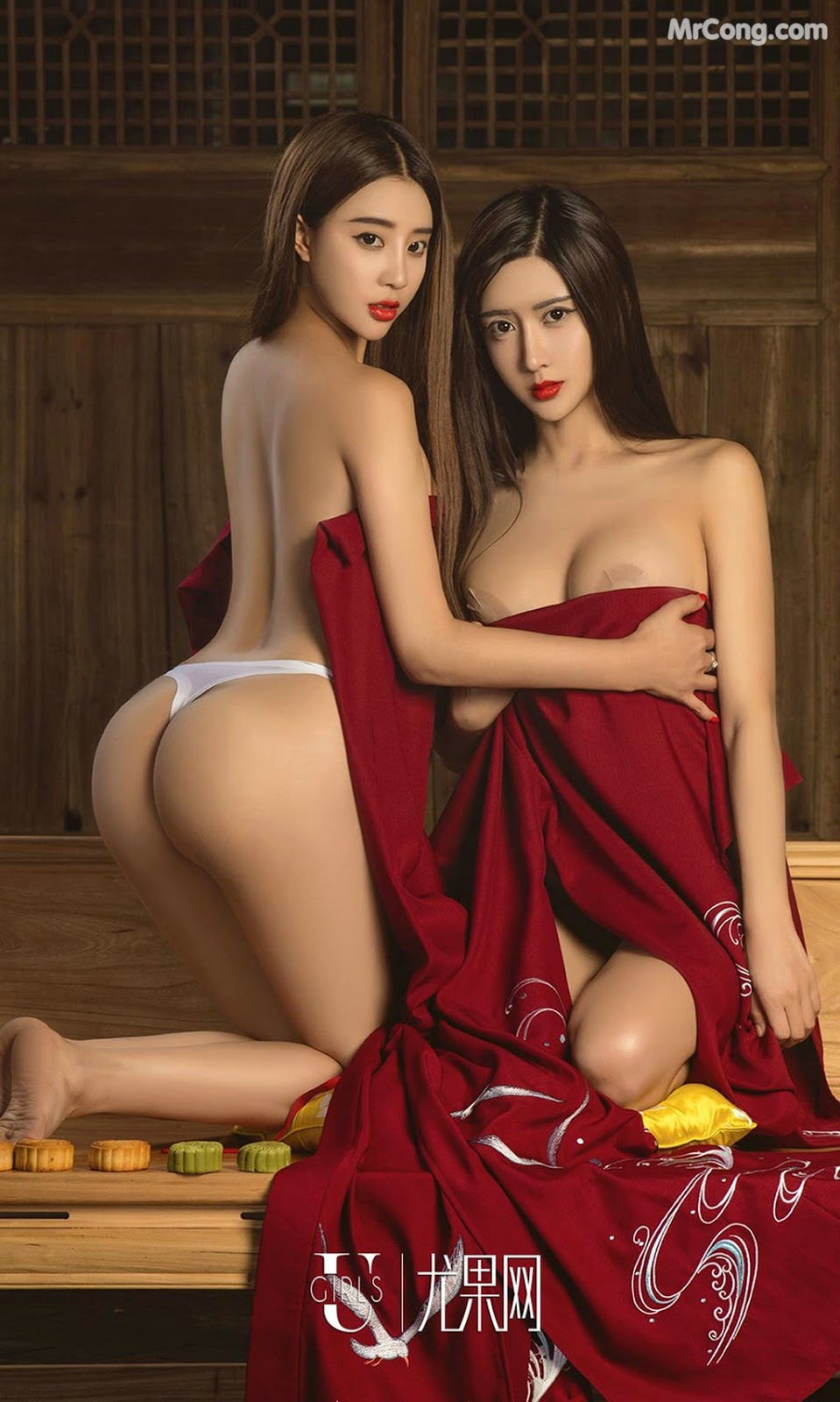 Image UGIRLS-Ai-You-Wu-App-No.868-Zhao-Zhi-Yan-Xiao-Hui-MrCong.com-014 in post UGIRLS – Ai You Wu App No.868: Người mẫu Zhao Zhi Yan (赵智妍) và Xiao Hui (筱慧) (40 ảnh)