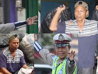 Inspiratif! Demi Hindari Suap, Polisi Ini Rela Jadi Pemulung Sampah