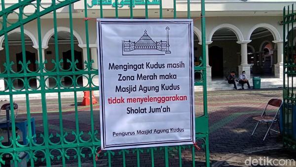 Hari Ini (Masih) Belum Ada Salat Jumat di Masjid Agung Kudus