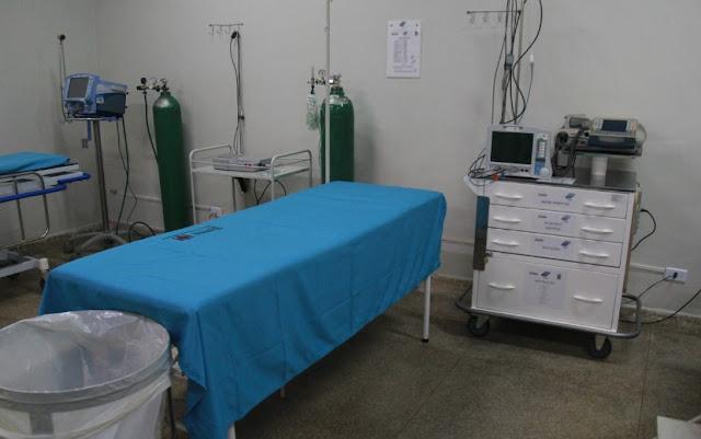 Prefeitura realiza obra de reforma no Hospital Municipal Bom Jesus