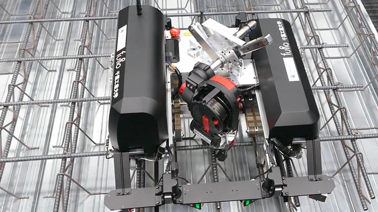 Автоматическая роботизированная вязка арматуры