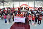 FDW-PYR Salurkan Bantuan Beras PPKM kepada KPM