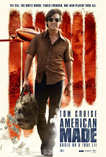 Sinopsis, Pemain, Review, Trailer American Made (2017) Tom Cruise