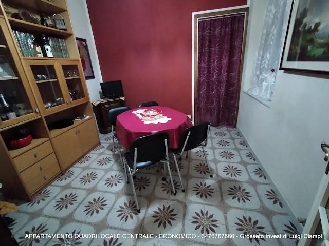 Immagine sala pranzo di appartamento su  Ximenes, Centro, Grosseto, Agenzia Immobiliare Grosseto Invest