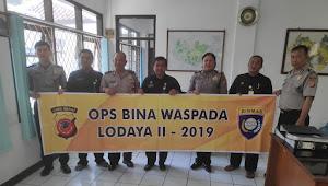Satbinmas Polsek Ujungberung Laksanakan Ops Bina Waspada Lodaya II-2019
