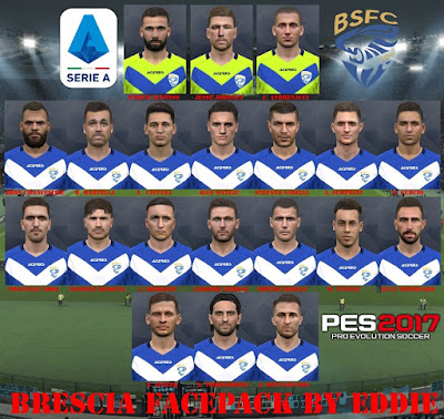 PES 2017 Facepack Brecisa 2019 by Eddie Facemaker