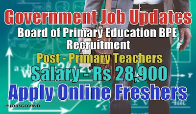 BPE Recruitment 2021