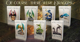 Jane Austen's Dragons Series of Books by Maria Grace