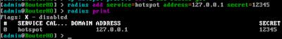 Pengaturan Radius Server