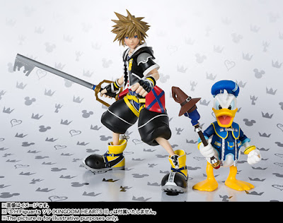 S.H.Figuarts Donald Duck de Kingdom Hearts II - Tamashii Nations