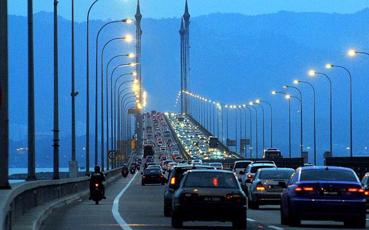 Jambatan Pulau Pinang Ditutup Setahun 22 Ogos 2017