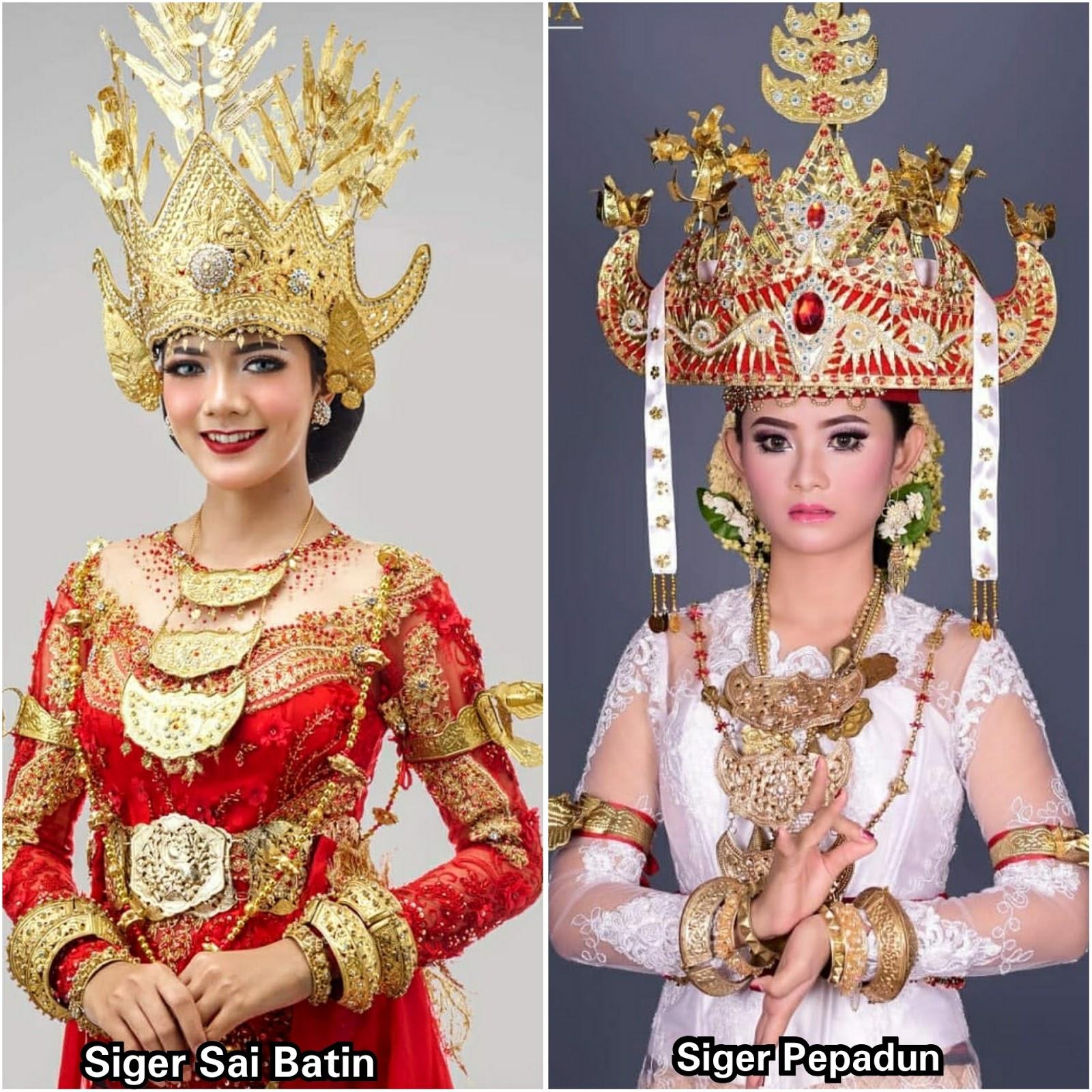Nama Pakaian Adat Lampung Saibatin