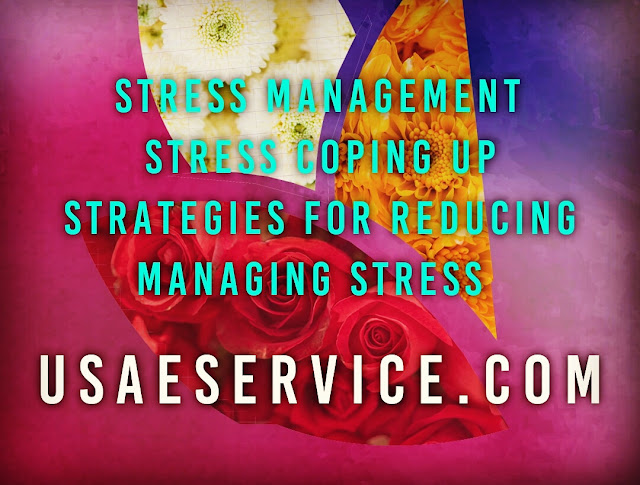 Stress Coping Up Strategies For Reducing Managing Stress In OB