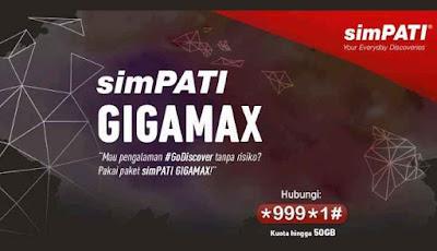 Mau Paket Internet Telkomsel 4G Murah? Coba Paket GIGAMAX