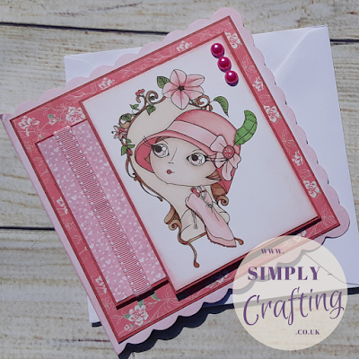 Verity Rose Moonstruck Handmade Card