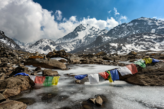 Climate change in Himalayas