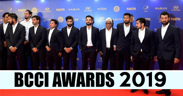 BCCI Annual Awards 2019
