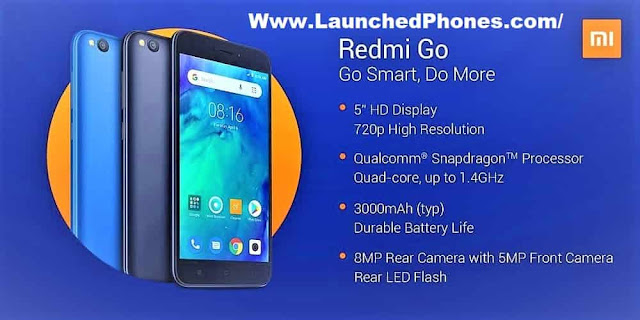 One variant revealed for this telephone as well as at that spot is null revealed close the exceed Xiaomi Redmi Go launched amongst these specs