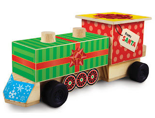 Save Green Being Green: FREE Lowe's Build & Grow Christmas Train
